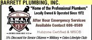 Barrett Plumbing Inc. Ad