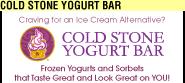 Cold Stone Yogurt Bar Ad