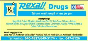 Rexal Drugs Ad