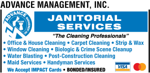 Janitorial Services Ad