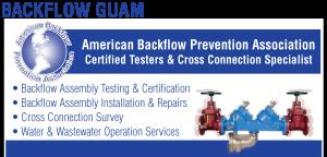 Backflow Guam Ad
