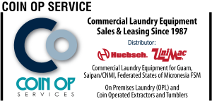 Commercial Laundry Equipment Ad