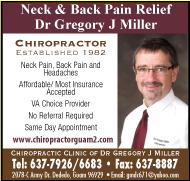 Dr. Gregory J. Miller Ad