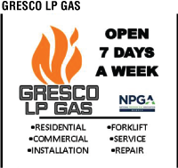 Gresco LP Gas Ad