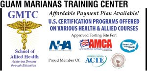 Guam Marianas Training Center Ad