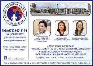 Guam Medical Clinic Ad