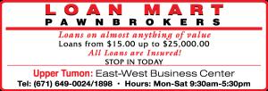Loan Mart Pawnbroker Ad