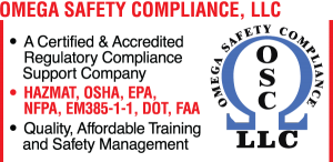 Omega Safety Compliance Ad