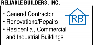 Reliable Builders Ad