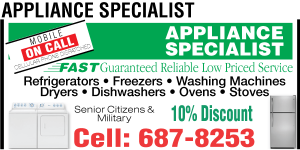 Appliance Specialist Ad