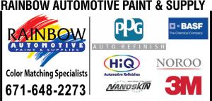 Rainbow Auto Paints Ad