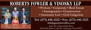Roberts Fowler Visosky Ad