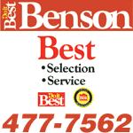 Benson Banner