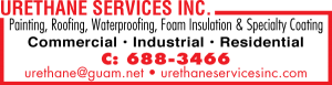 Urethane Services Painting Ad