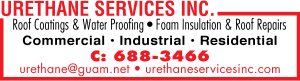 Urethane Services Roofing Ad